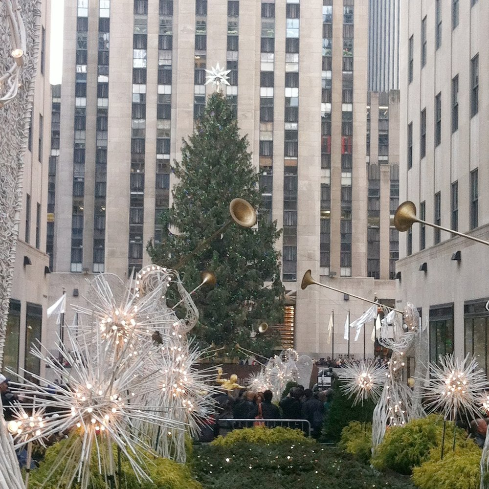 New York Christmas Tree