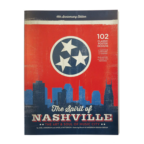 Spirit Of Nashville Coffee Table Book High Note Gifts