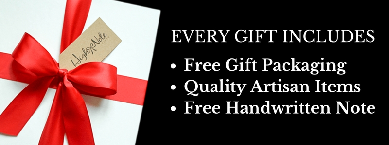 Free Gift Packaging and Handwritten Note