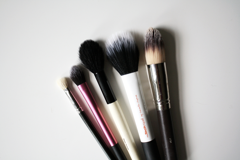 Top 5 Most Used Makeup Brushes