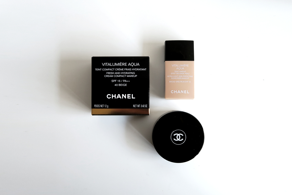 Chanel Vitalumiere Aqua Compact