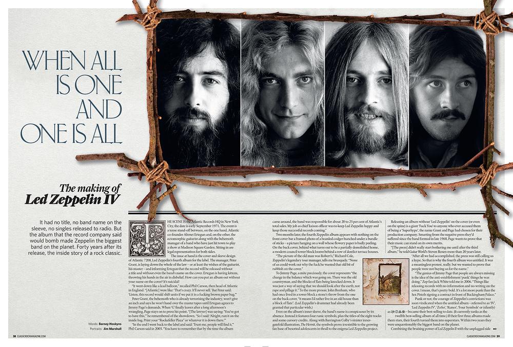 Led Zeppelin spread