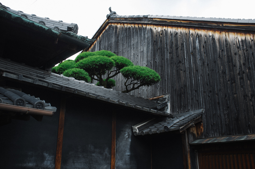 The old parts of Nara are bewitching with their beauty