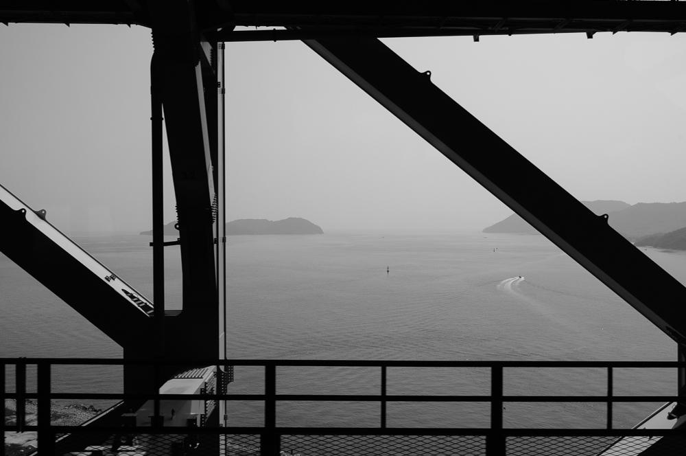 Bridge from the mainland to Takamatsu