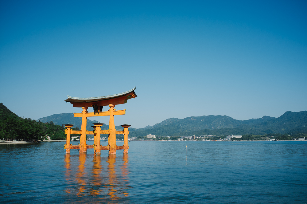Torii Gate - high tide