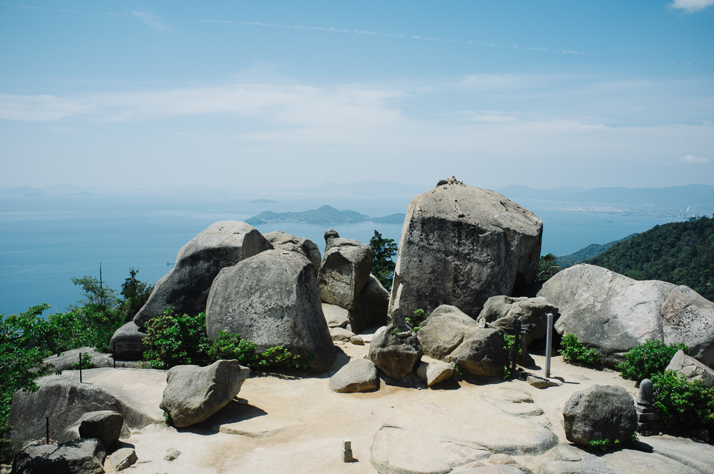 The Summit of Mt Misen.