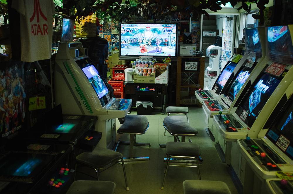 Retro Arcade, Akibara, Tokyo