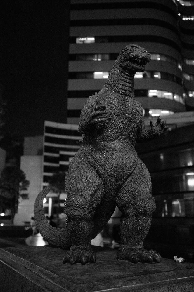 Godzilla Statue, Ginza, Tokyo