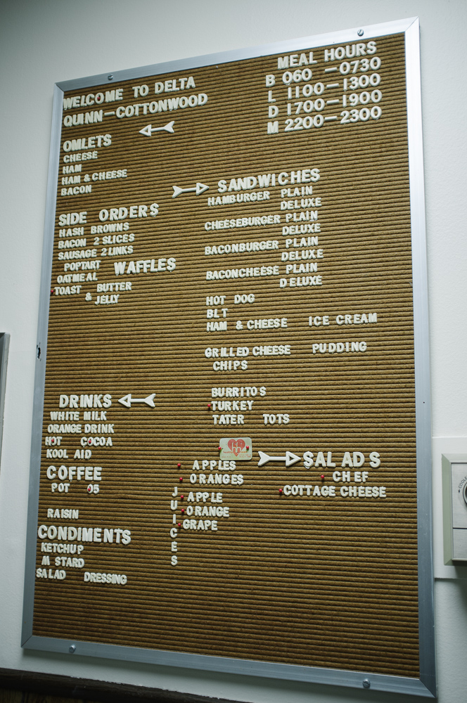 The lunch site - the days menu