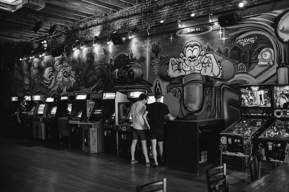 Emporium Bar and Arcade in Wicker Park