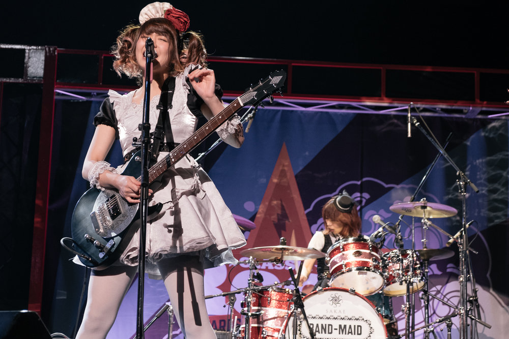 Band Maid, Classic Rock Awards, Tokyo, November 2016