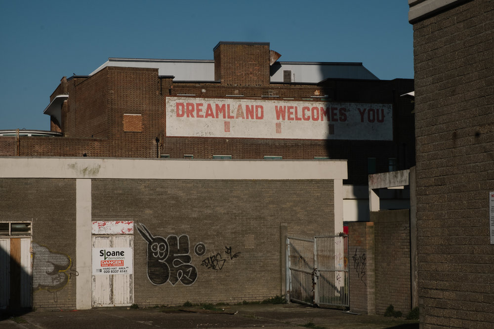 Old Dreamland ghost sign