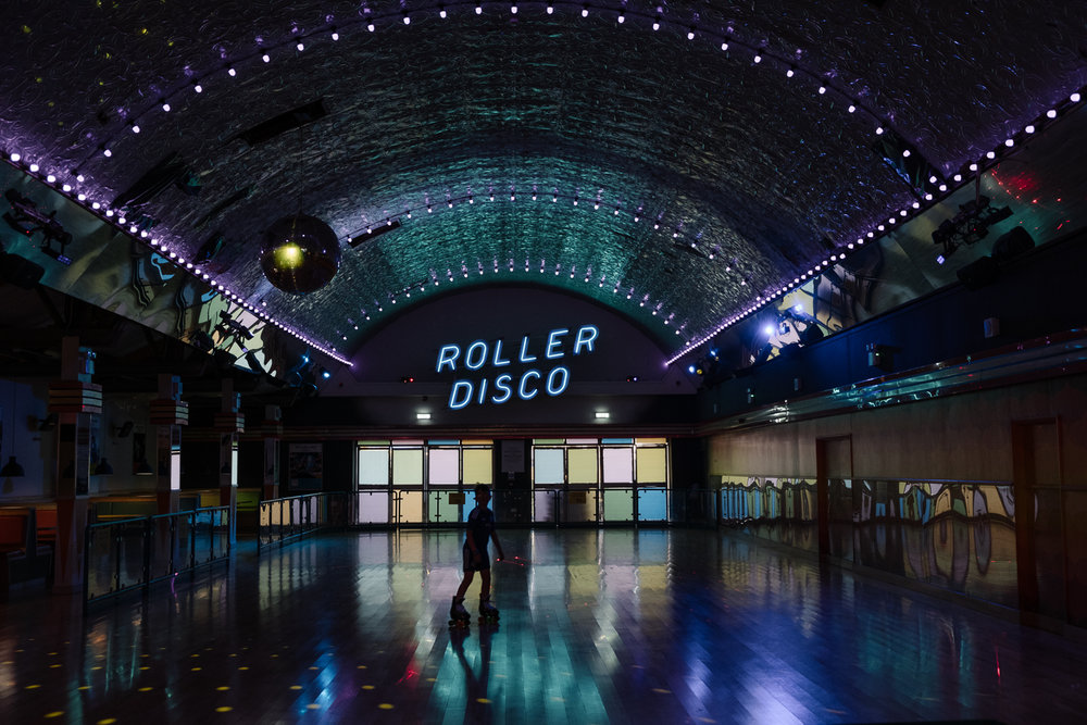 Even has its own Roller Disco!