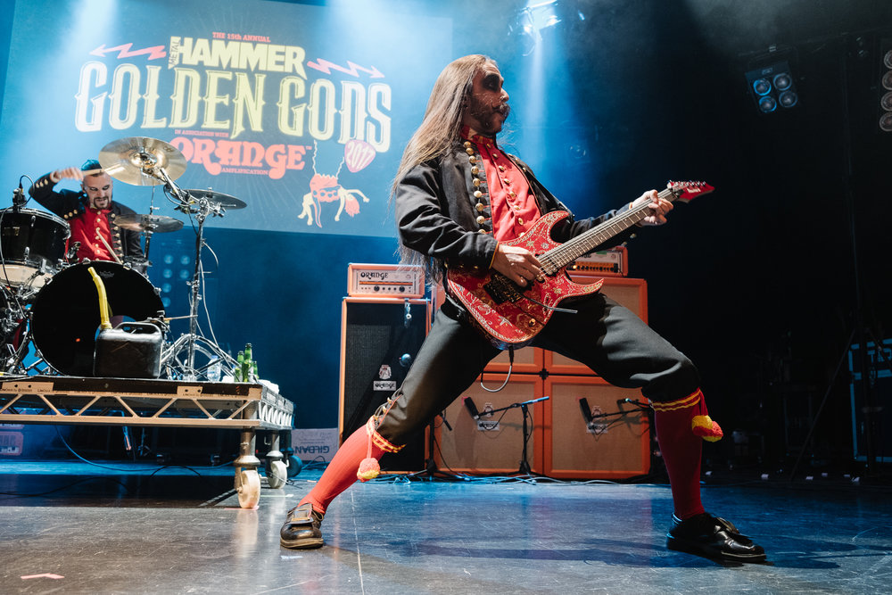 Avatar at the Metal Hammer Golden Gods 2017