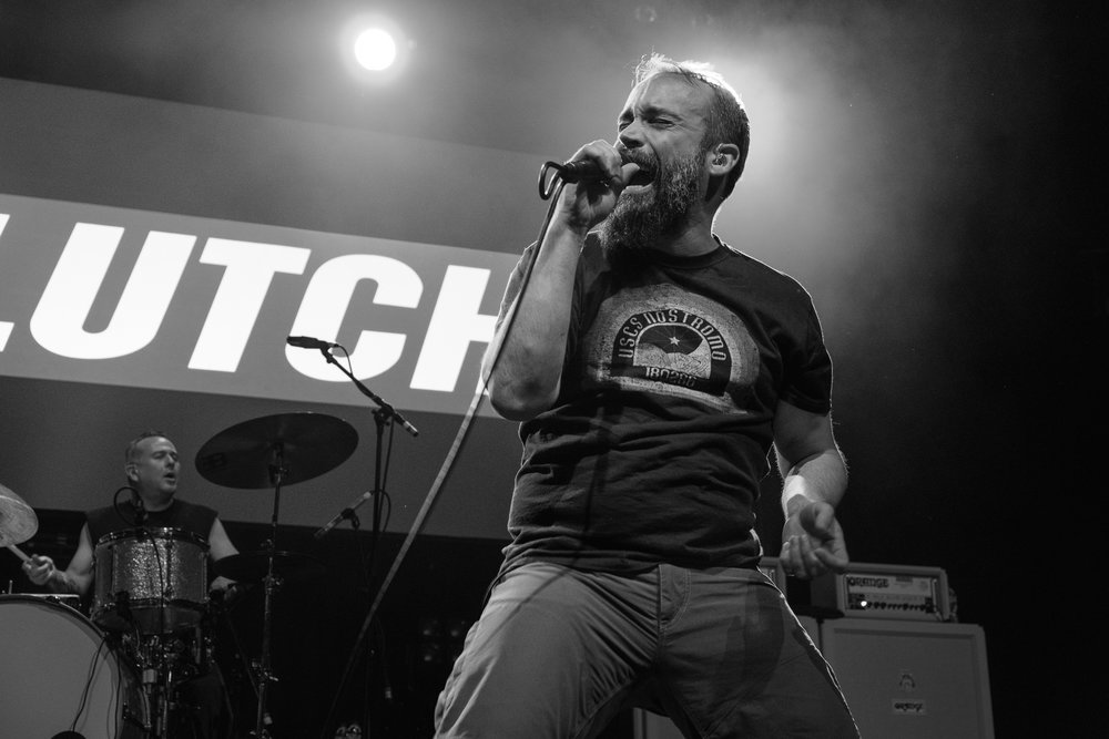 Clutch at the Metal Hammer Golden Gods 2017
