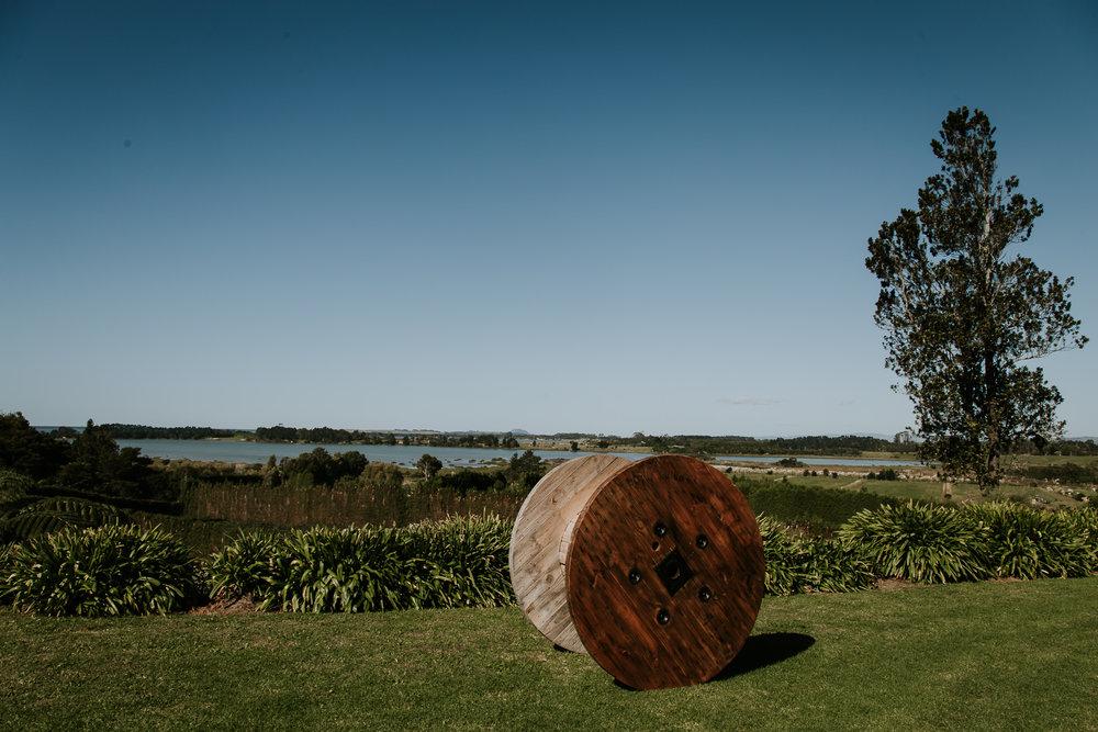 Elegant farm destination wedding venue in Katikati New Zealand