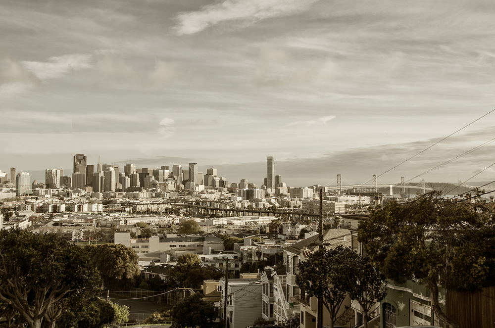 San Francisco Skyline from Potrero Hill