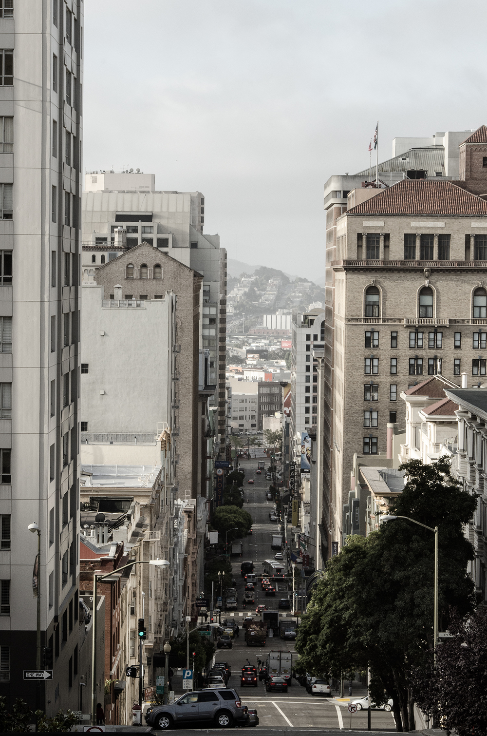 Descending Mason Street