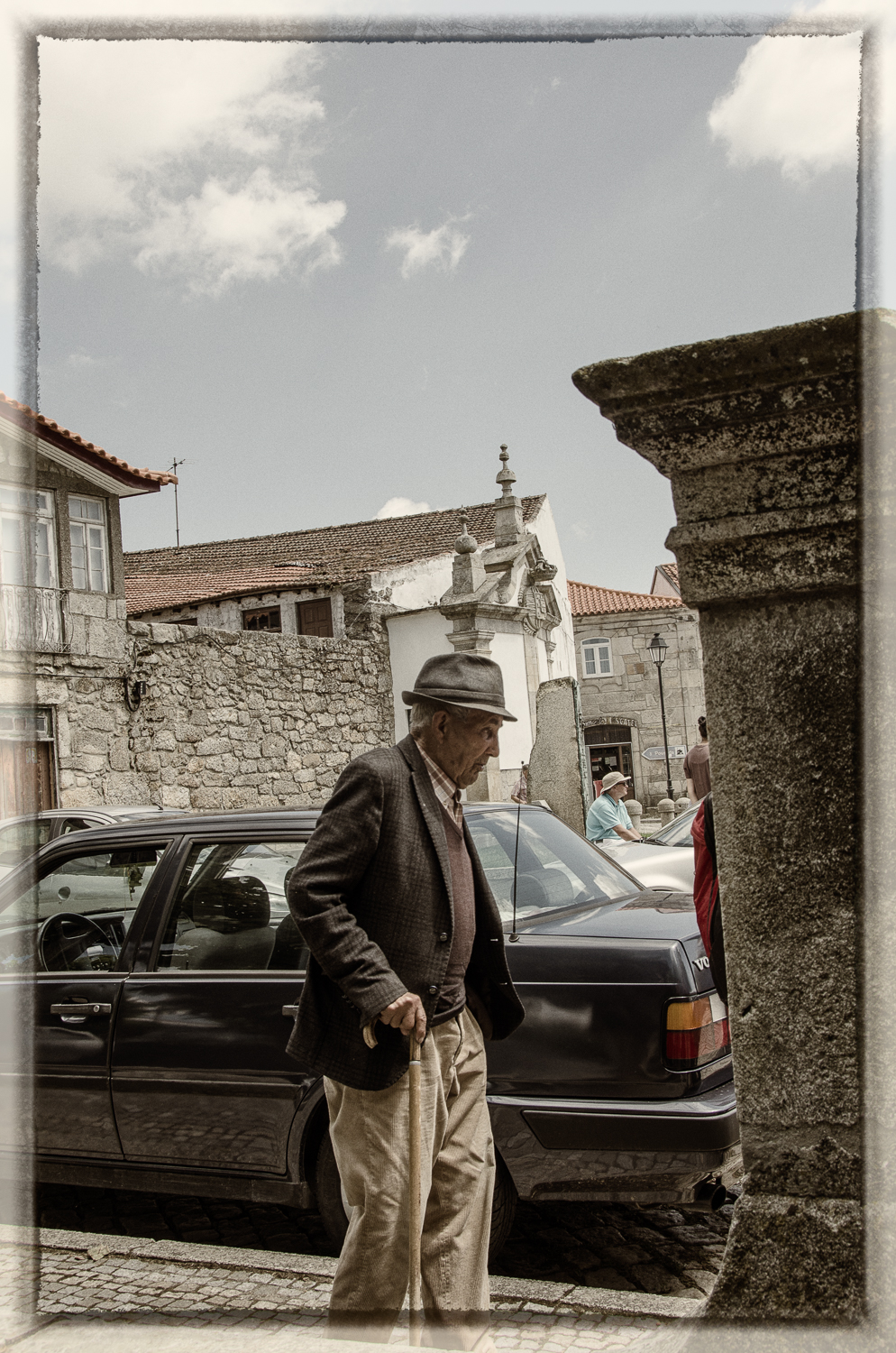 Man With Hat and Cane, Favaios