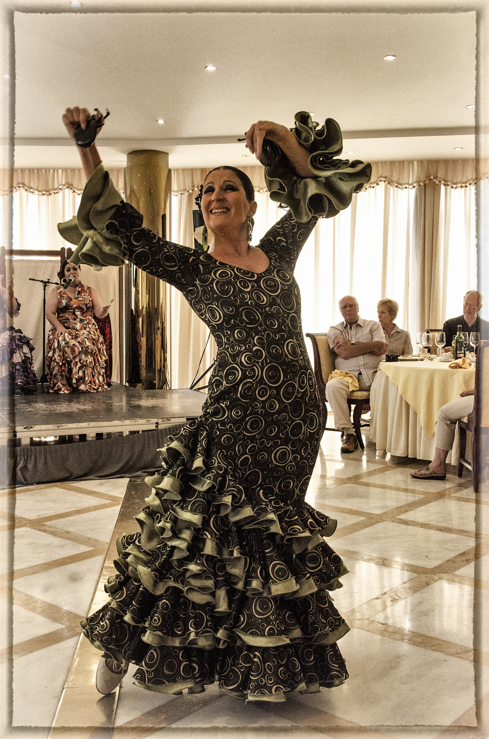 Flamenco Dancer, Salamanca
