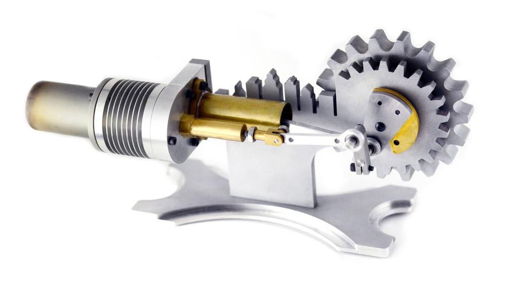 Stirling engine kristopher li for Decor 9 stirling
