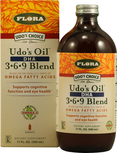 Udo's Oil DHA 3-6-9 Blend