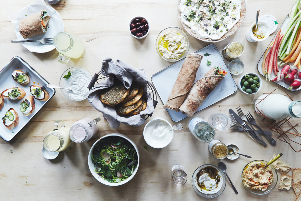 Lebanese Yogurt Feast | Photograph © Christina Holmes