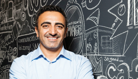 Chobani Founder Hamdi Ulukaya | Image from media kit on Chobani.com