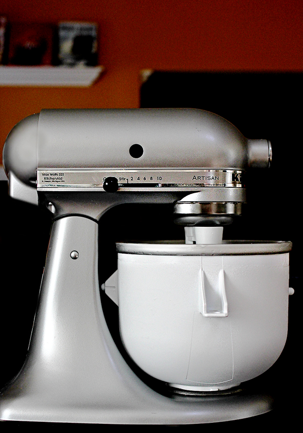 KitchenAid Artisan 5-Quart Stand Mixer with Ice Cream Attachment
