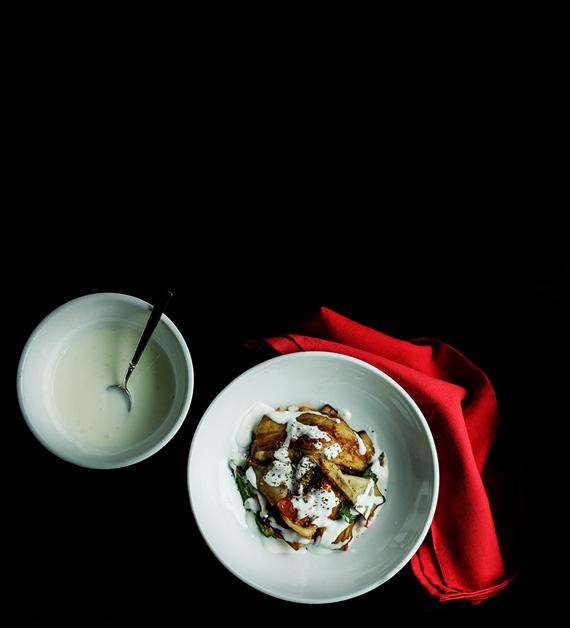 Nawida Saidhosin's Burani Bonjon (Afghan Eggplant with Yogurt Sauce)