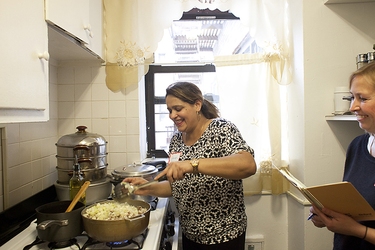 Global | Profile of Nawida Saidhosin of the League of Kitchens ...