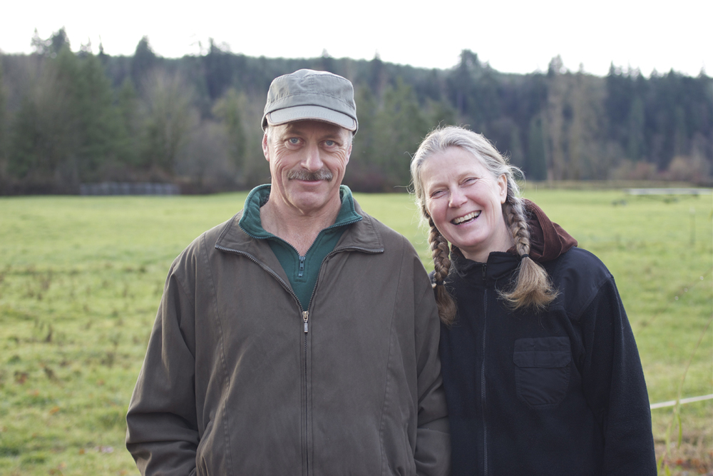 Keith Fagernes and Selma Bjarnadottir of Flying Cow Creamery | Photograph  ©  Jennifer Crain