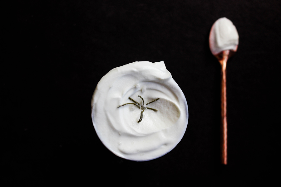 Greek yogurt with rosemary syrup and rosemary sugar (900).jpg
