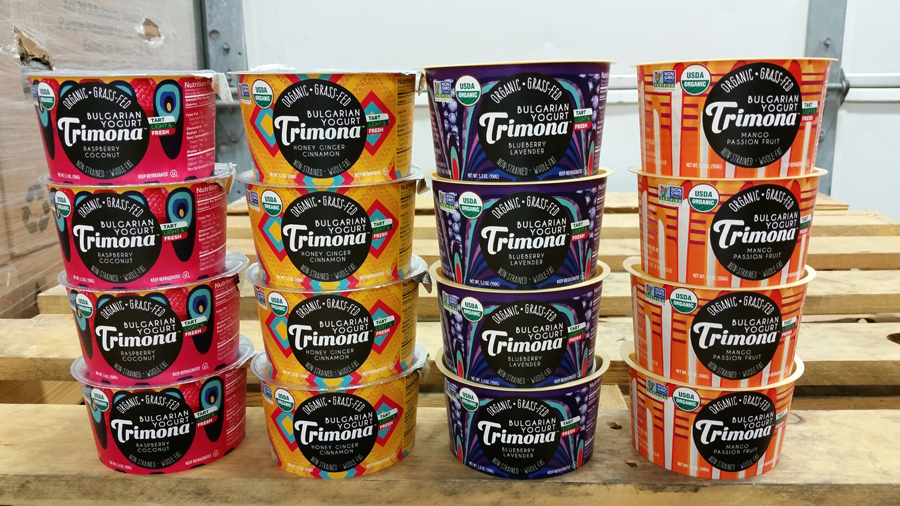 Trimona's New Line of Fruit Yogurt