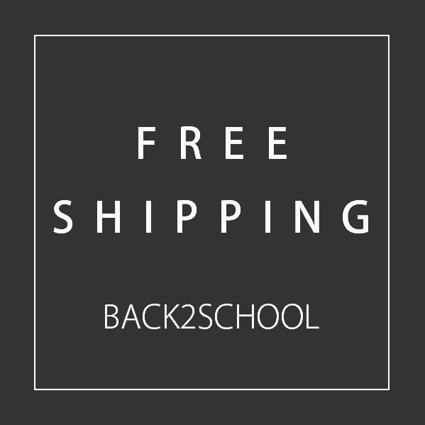 We're offering free shipping for the rest of August - that's a $30 discount for international orders. To enjoy, simply enter discount code: BACK2SCHOOL 😉