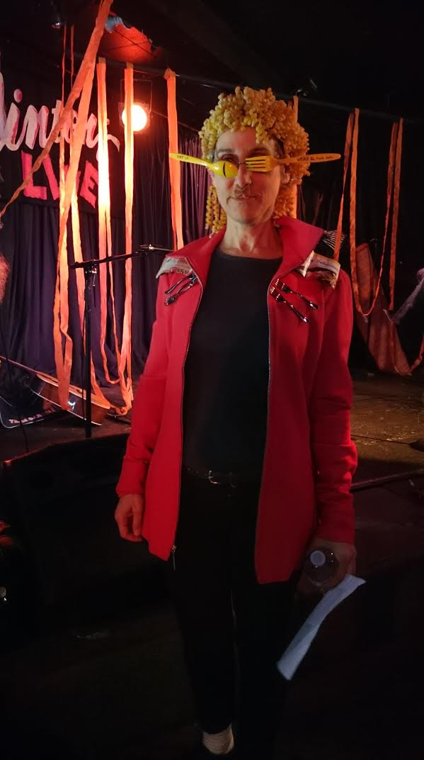 Weird Alfredo—this years' costume winner!