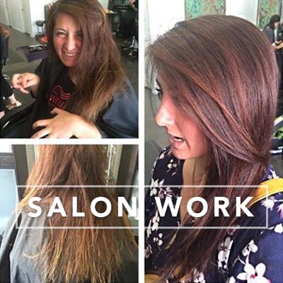Salon-Work-Hair-Stylist-Makeup-Artist