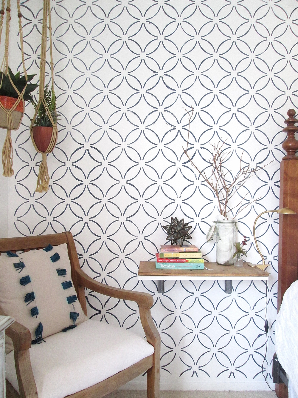 Stencil or wallpaper can you tell the difference stylemutt img2847g amipublicfo Choice Image