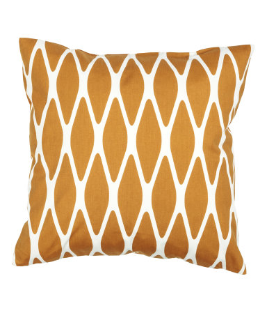 Mustard Ikat Cushion Cover - $3.99