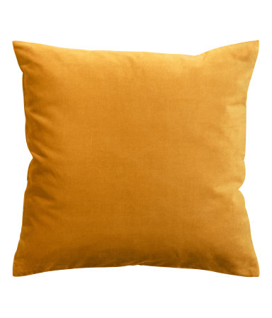 Mustard Velvet Cushion Cover - $9.99