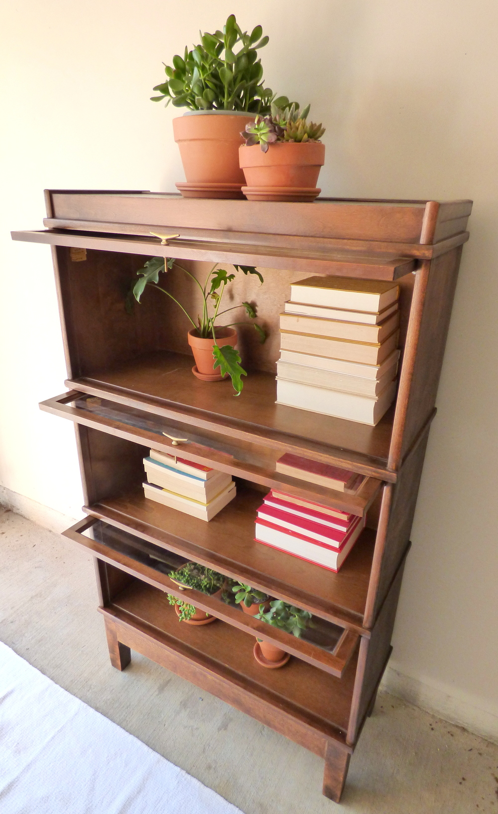 valley sf mission cherry the lawyer barrister motif bookcase