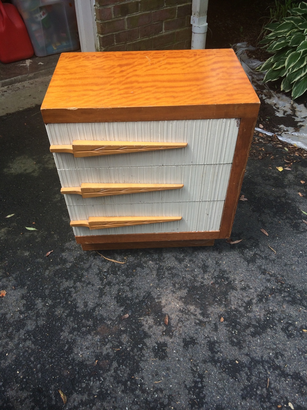 Quirky MCM Nightstand
