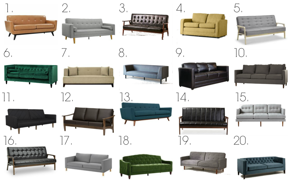 Smh Picks 20 Sofas Under 800 Stylemutt Home Your Home Decor