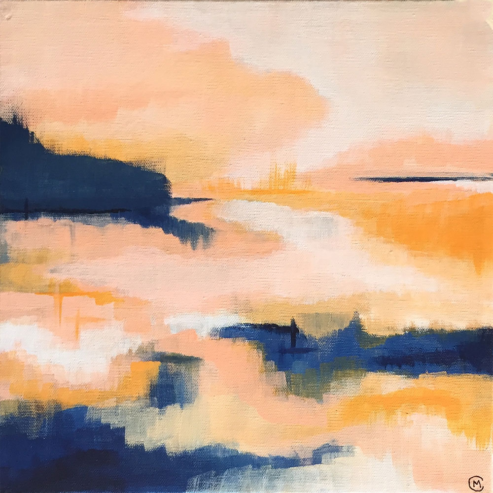 Dreaming in Orange   by Cory McBee, Modern South Studio