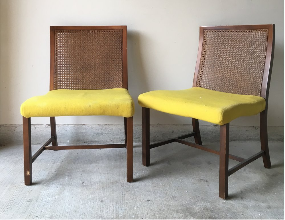 No.3: Cane Slipper Chairs