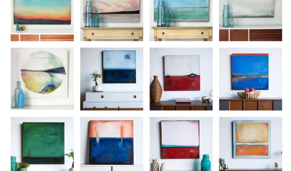 Laura Gunn Art - Originals + Canvas PrintsWashington, DC