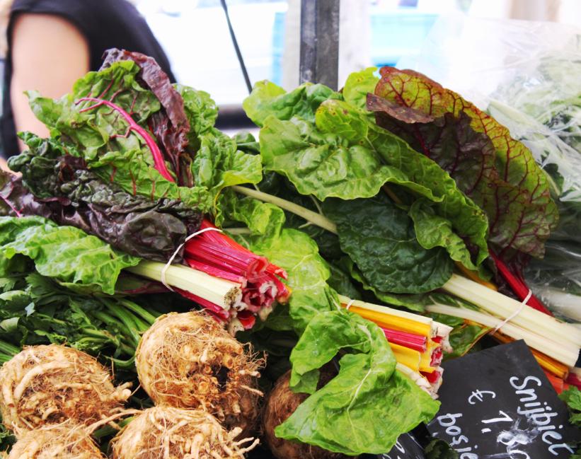 Heerlijke groenten op de Zuidermarkt!