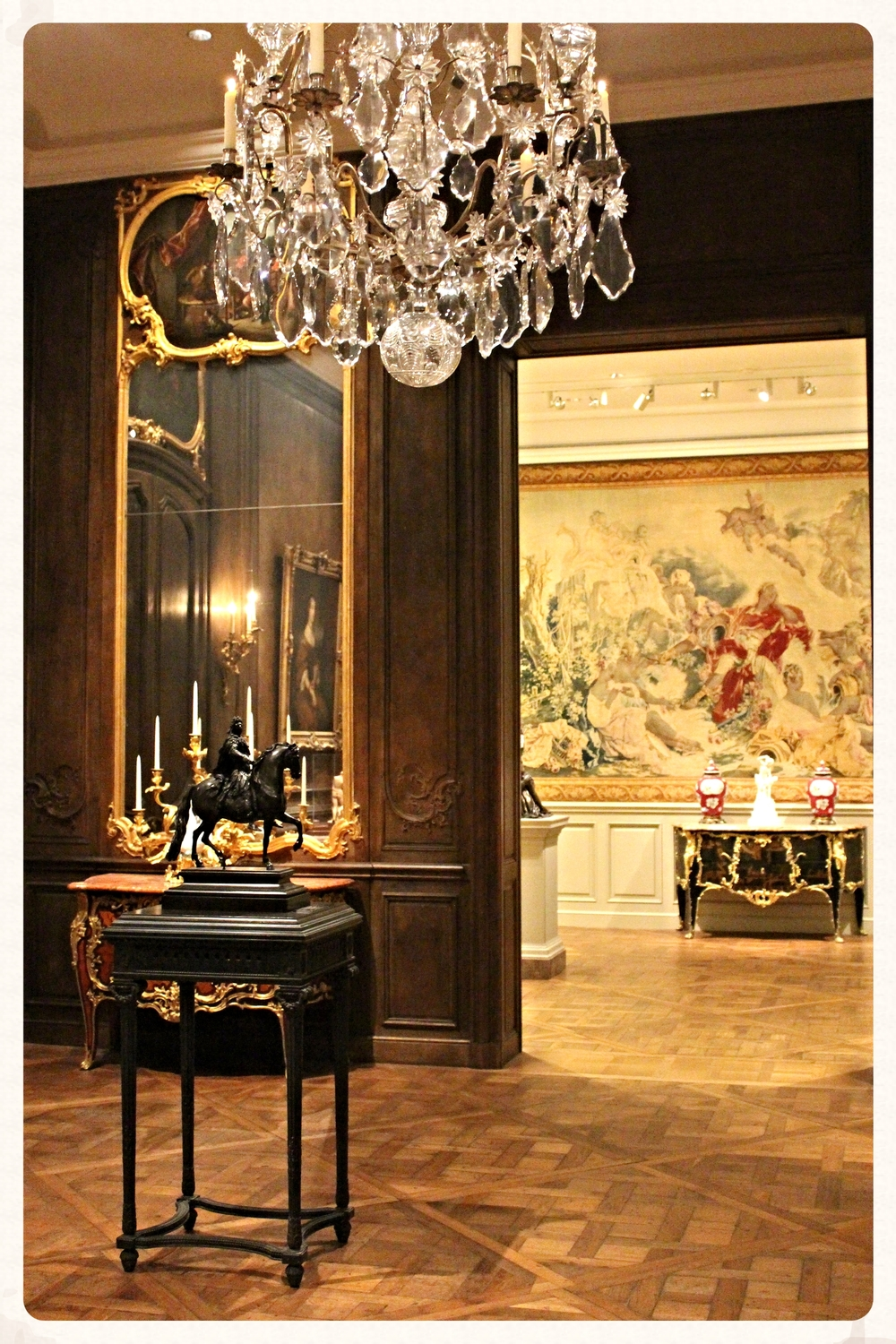 Een van de stijlkamers in the National Gallery of Art. WHAAAA!