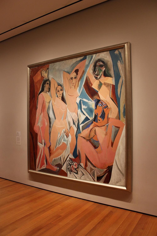 Les Demoiselles d'Avignon, een van de redenen waarom mensen naar het MoMA (zouden moeten) gaan.