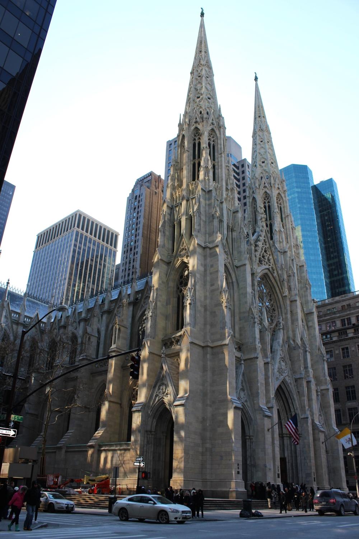 Saint Patrick's Cathedral, een prachtig stukje Neogotiek op Manhattan.